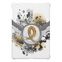 Amber Ribbon And Wings Appendix Cancer iPad Mini Case