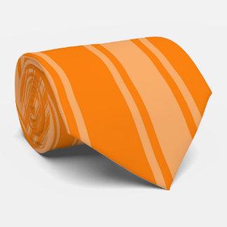 Amber (SAE-ECE) Color Stripe Funky Pattern Tie