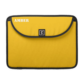 Amber Sleeve For MacBook Pro