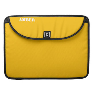 Amber Sleeves For MacBook Pro