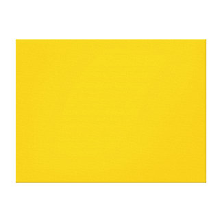 Amber Solid Color Stretched Canvas Prints
