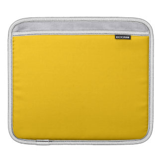Amber Solid Color Sleeve For iPads