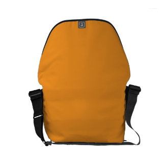 AMBER (solid color yellow-orange) ~ Small Messenger Bag