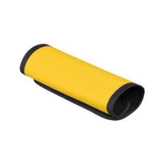 Amber Solid Color Luggage Handle Wrap