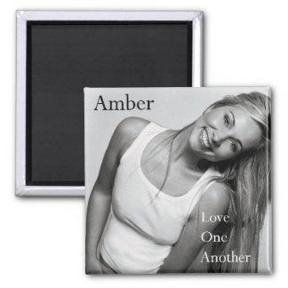 AMBER Square Magnet
