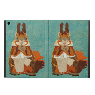 Amber Squirrel Retro Case Cover For iPad Air