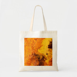 Amber stone texture background tote bag