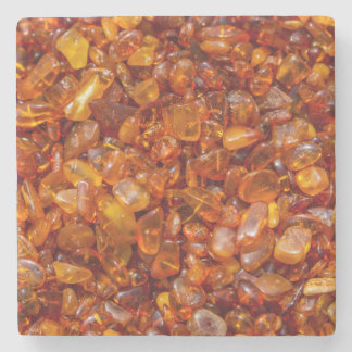 Amber stones stone coaster