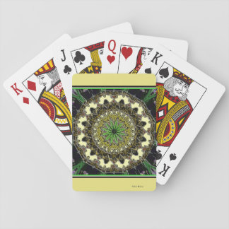Amber Sundial Playing Cards