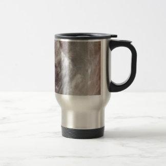 Amber Swirls 2 Travel Mug