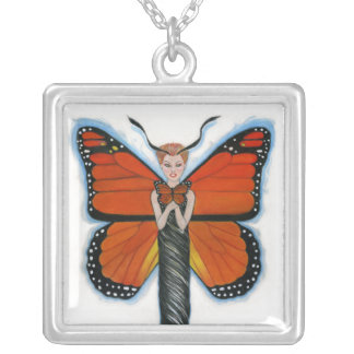 Amber the Monarch Butterfly Necklace