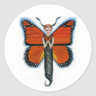 Amber the Monarch Butterfly Stickers
