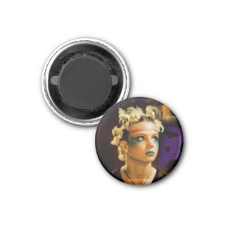 Amber The Tribe 1 Inch Round Magnet