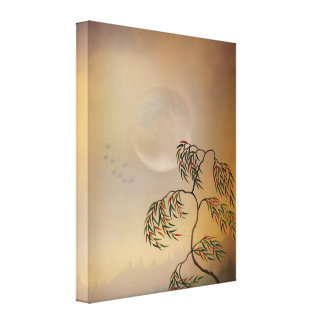 Amber Vision Canvas Prints