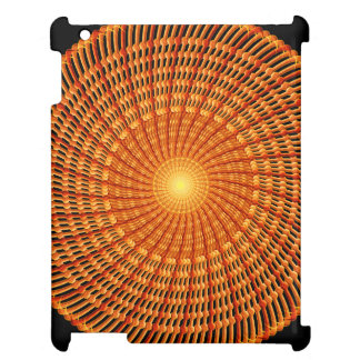 Amber Vortex Mandala Cover For The iPad 2 3 4