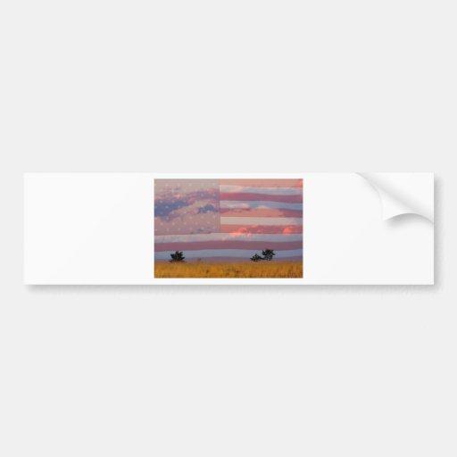 Amber Waves of Grain Bumper Sticker