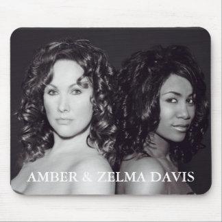 AMBER & ZELMA DAVIS Mousepad - Customized