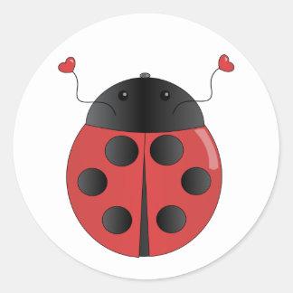 amberbug classic round sticker