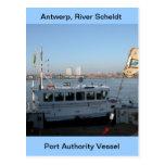 Amberes, buque de apoyo de Escalda 12 Postal