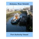 Amberes, buque de apoyo de Escalda 13 Postales
