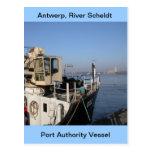 Amberes, buque de apoyo de Escalda 1 Postales
