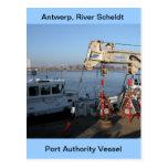Amberes, buque de apoyo de Escalda 2 Postal