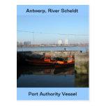 Amberes, buque de apoyo de Escalda 4 Postal