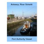 Amberes, buque de apoyo de Escalda 6 Postal