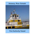 Amberes, buque de apoyo de Escalda 8 Tarjetas Postales