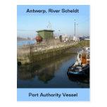 Amberes, buque de apoyo de Escalda 9 Postales