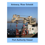 Amberes, buque de apoyo de Escalda Postal