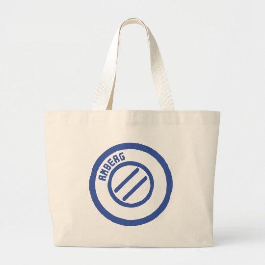 AMBERG City STamp Large Tote Bag