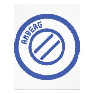AMBERG City STamp Letterhead