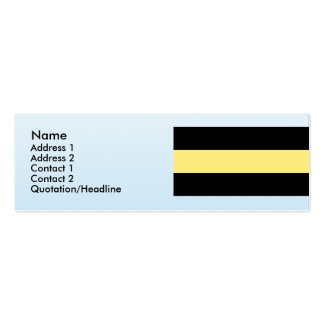 Amberg, Germany Double-Sided Mini Business Cards (Pack Of 20)