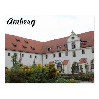 "Amberg ""Landratsamt "" Tarjeta Postal"