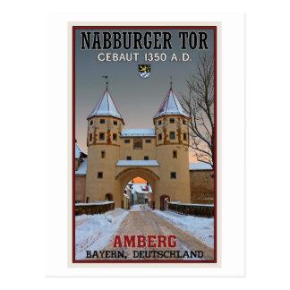Amberg - Nabburger Tor Postcard