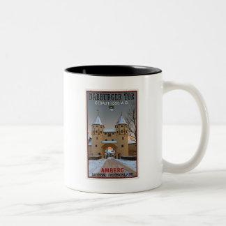 Amberg - Nabburger Tor Two-Tone Coffee Mug