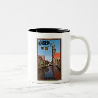 Amberg - Vils River Two-Tone Coffee Mug