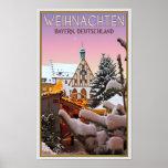 Amberg - Weihnachten Baviera Poster