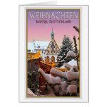 Amberg - Weihnachten Baviera Tarjeta