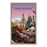 Amberg - Weihnachten Bayern Posters
