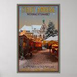 Amberg Weihnachtsmarkt Poster