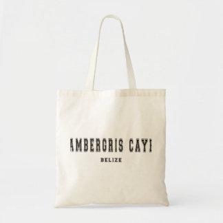 Ambergris Caye, Belice Bolsa Tela Barata