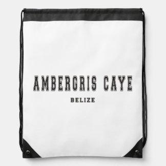 Ambergris Caye, Belice Mochilas