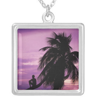 Ambergris Caye, Belize, Central America. Necklace