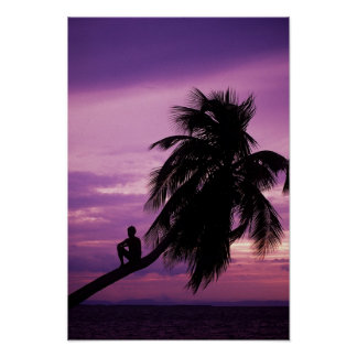 Ambergris Caye, Belize, Central America. Print
