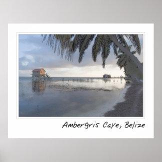 Ambergris Caye Belize Print