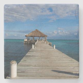 Ambergris Caye Belize Stone Coaster