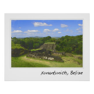 Ambergris Caye Belize Travel Destination Poster
