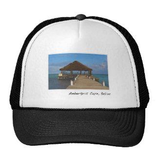 Ambergris Caye Belize Tropical Destination Trucker Hat